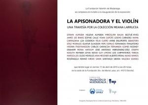 La apisonadora y el violín, una travesía por la Colección Meana Larrucea