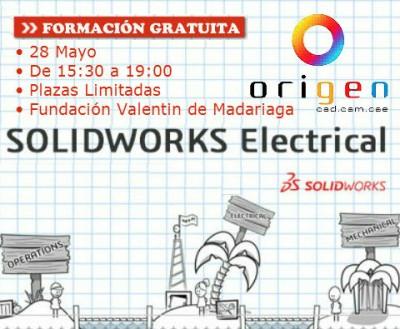 JORNADA DE FORMACIÓN INICIAL GRATUITA EN SOLIDWORKS ELECTRICAL