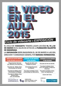 El video en el aula 2015; la integración del videoarte en el ámbito educativo