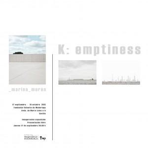 Invitacion exposición K-emptiness