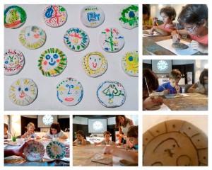 Niños interpretando a Picasso