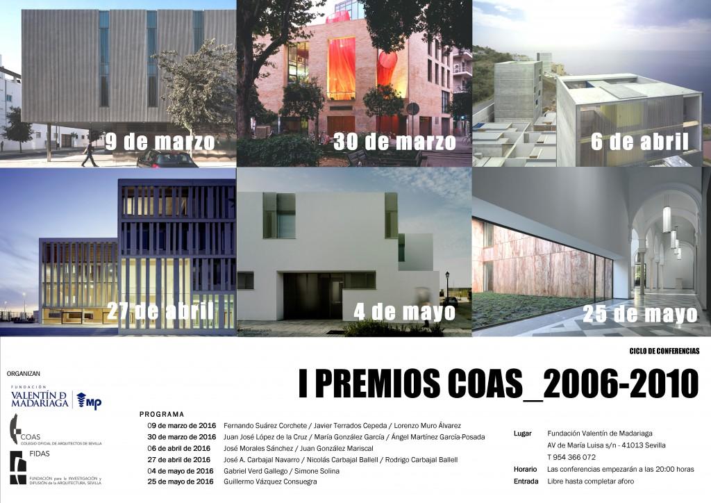 CARTEL CONFERENCIAS PREMIOS